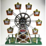 Musical Ferris Wheel Wind Up Classic Tin Toy