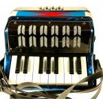 Childrens Piano Accordion in Red or Green