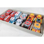 12 Medium Tin Toy Vehicles (Fire/Police/Army/Train etc)