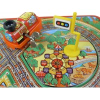 Fairyland Toy Train with Track Wind- Up Toy