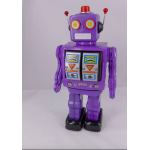 Purple Machine Gun Robot