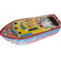 2x Tin Toy Pop Pop Candle Powered Boats