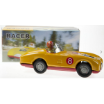 Yellow Racing Car Clockwork 16 cm