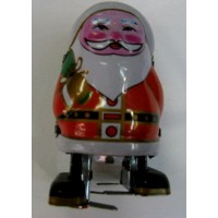 12x Wind Up Santa Claus Christmas Great Gifts