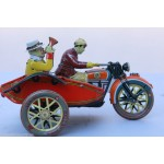 Motorbike & Sidecare Wind Up Collectable
