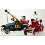 2X Rescue Truck & Fire Engine Truck Wind Up