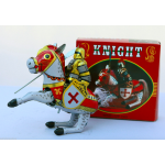 Knight on Horse Clockwork Vintage Style