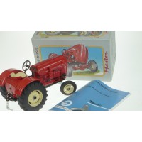 Model Tractor - Porsche Diesel Master - Windup TIn Toy Licenced Porsche Product
